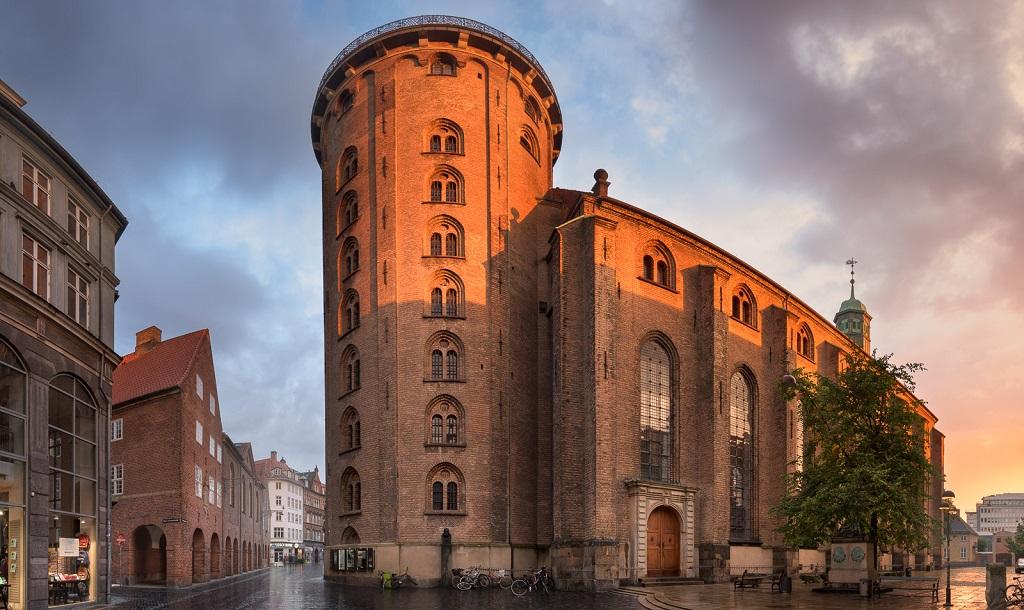 Достопримечательности Копенгагена - Круглая башня