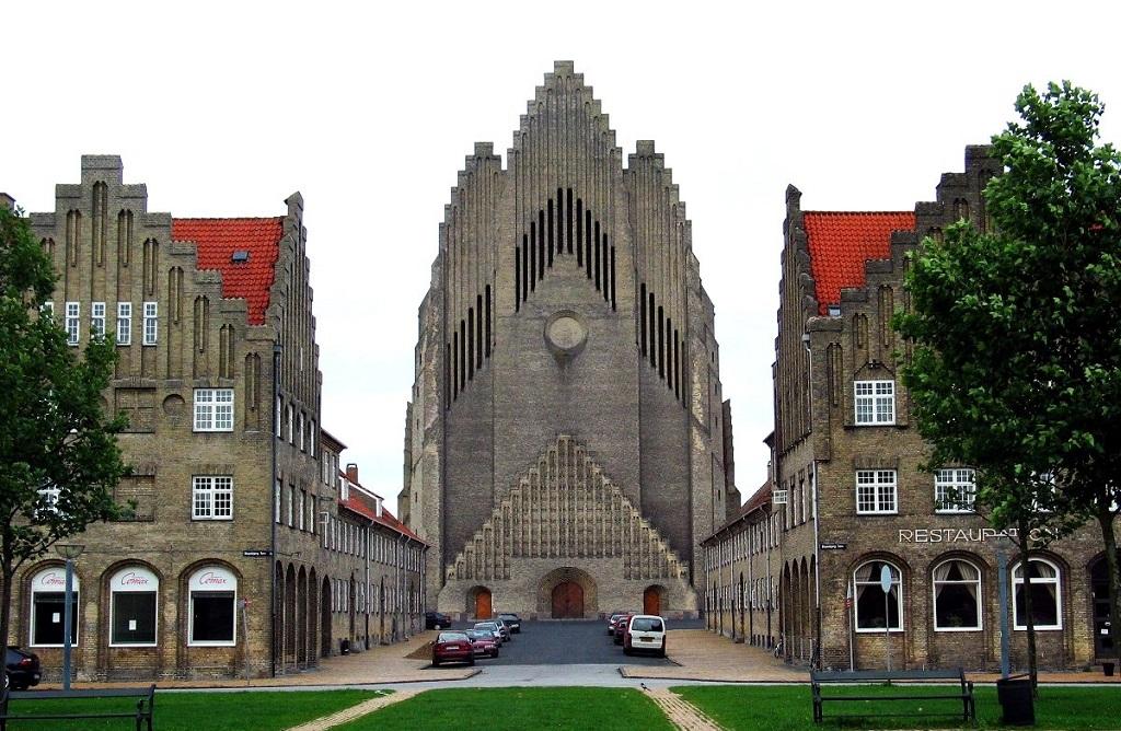 Достопримечательности Копенгагена - Церковь Гундтвига