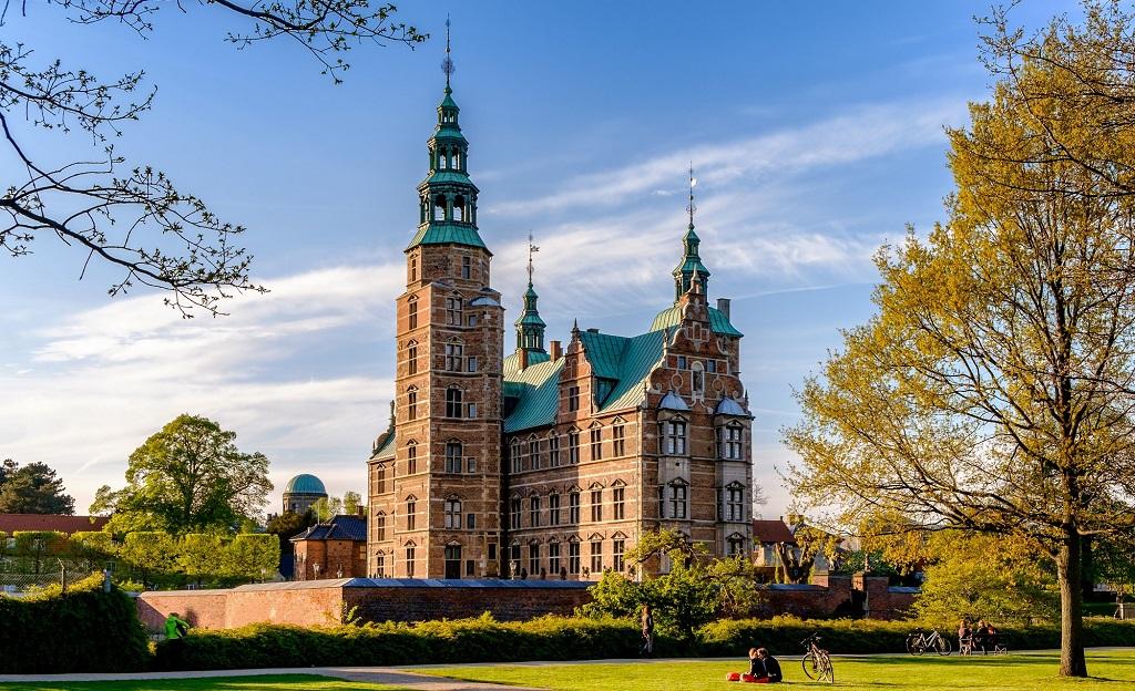 Достопримечательности Копенгагена - Замок Розенборг