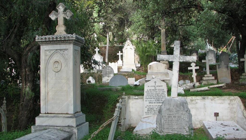 Достопримечательности Малаги - Английское кладбище