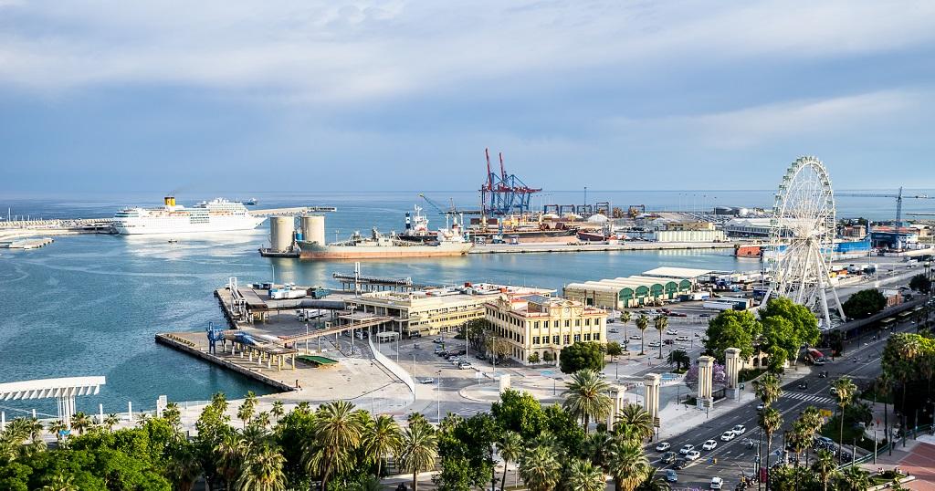 Достопримечательности Малаги - Круизный порт