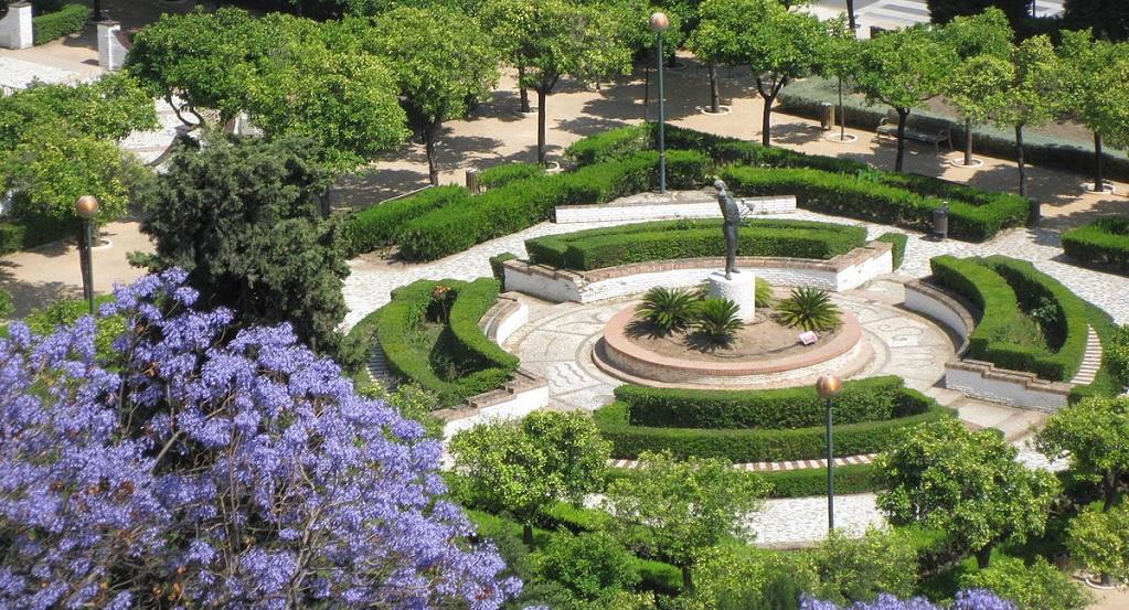 Достопримечательности Малаги - Малагский парк