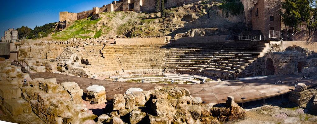 Достопримечательности Малаги - Римский театр