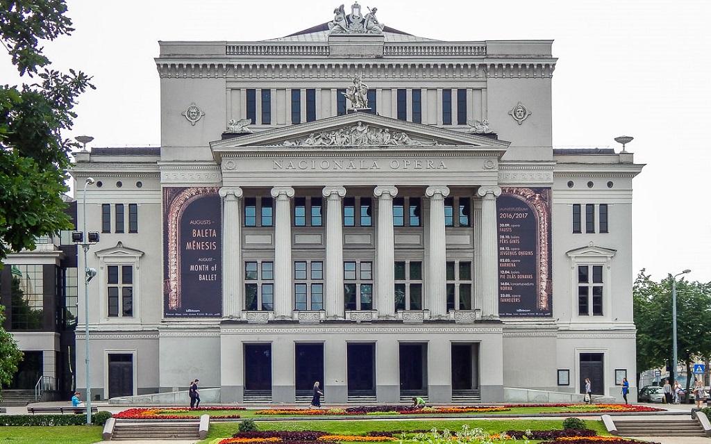 Достопримечательности Риги - Латвийская национальная опера