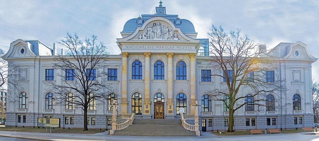 Достопримечательности Риги - Латвийский Национальный художественный музей