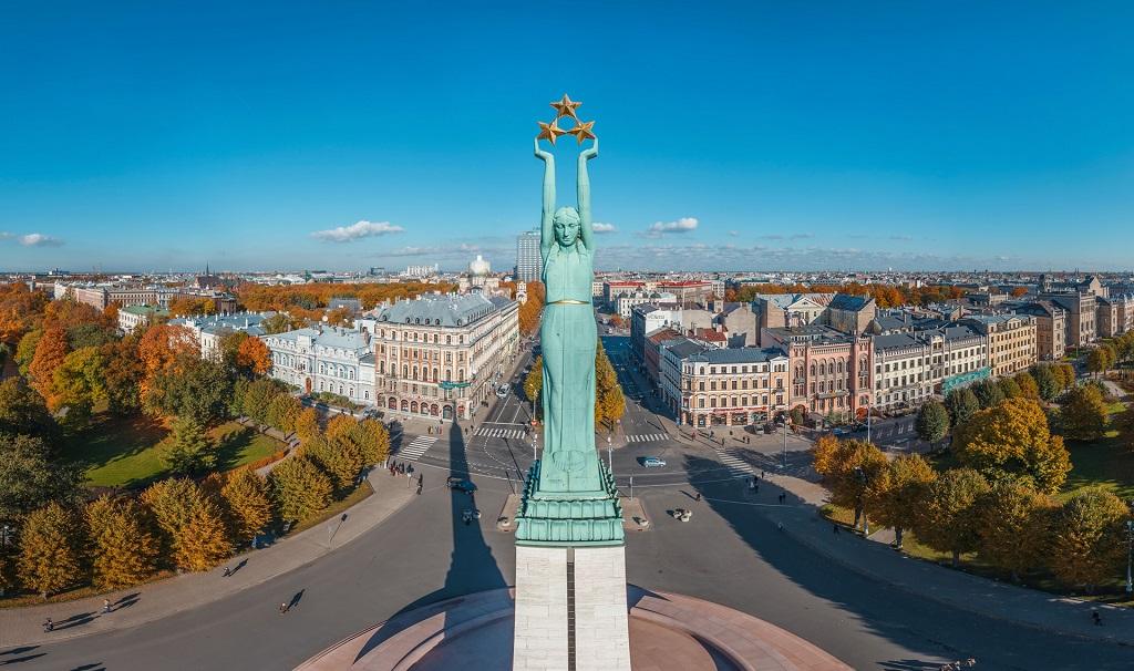 Достопримечательности Риги - Памятник Свободы