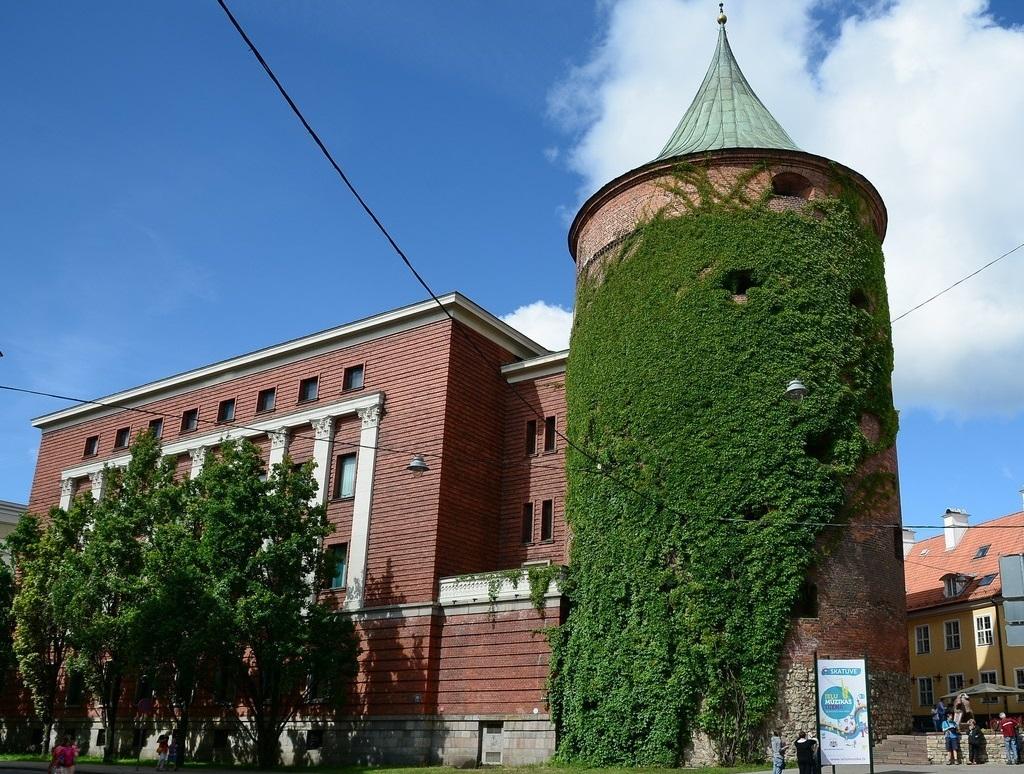 Достопримечательности Риги - Пороховая башня