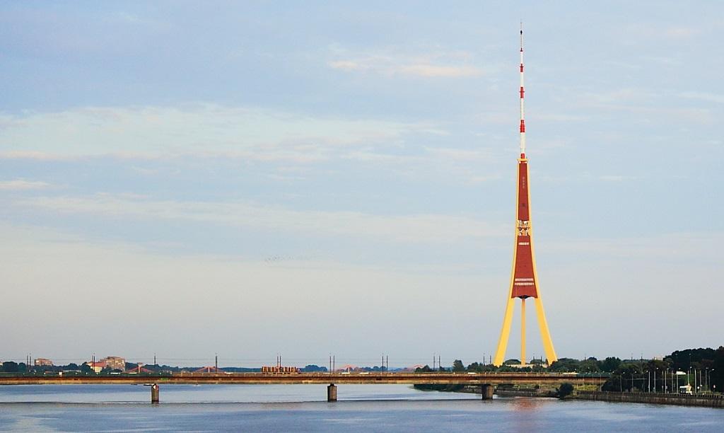 Достопримечательности Риги - Рижская телевизионная башня