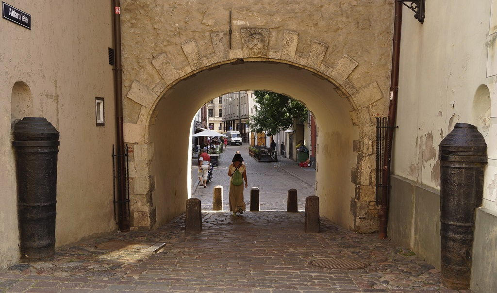 Достопримечательности Риги - Шведские ворота