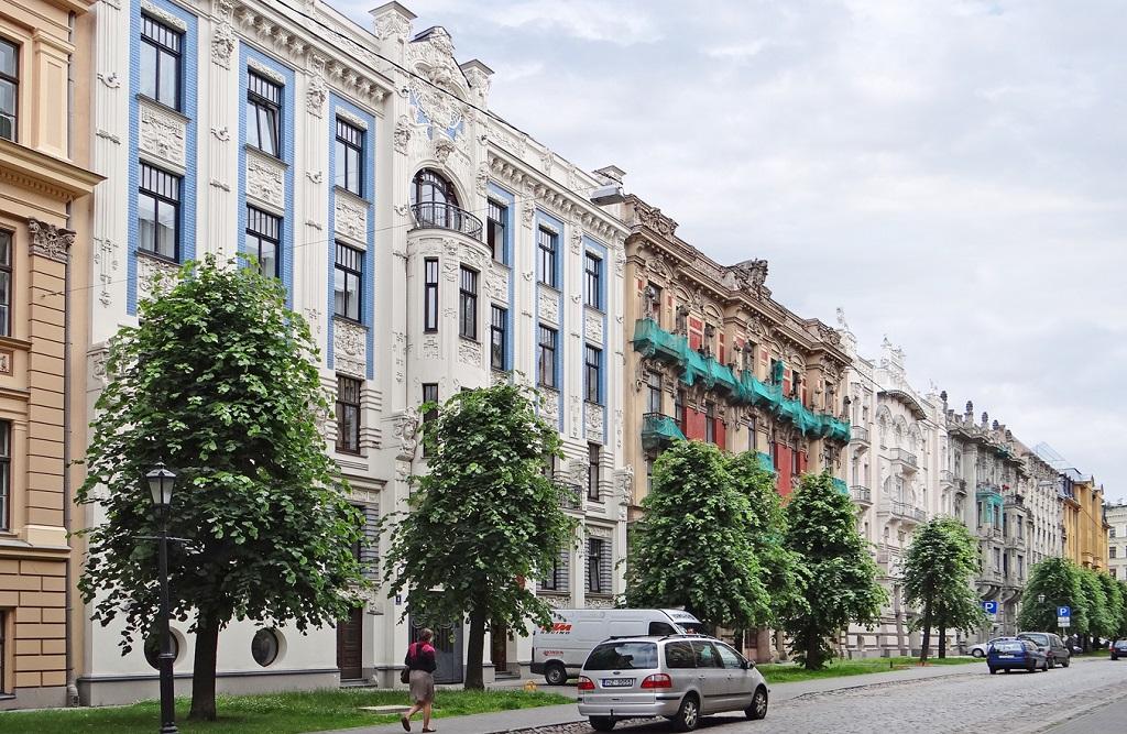 Достопримечательности Риги - Улица Альберта