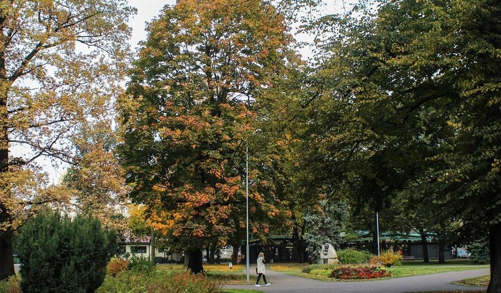 Достопримечательности Риги - Верманский парк