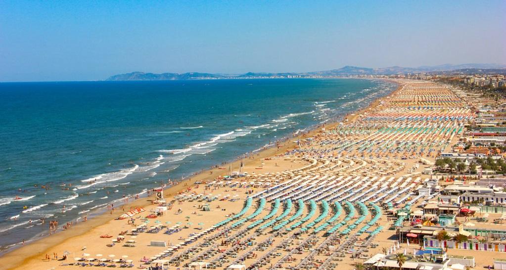 Достопримечательности Римини - Пляжи Римини