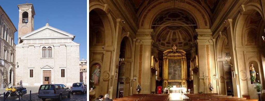 Достопримечательности Римини - Церковь святого Джулиано Мученика