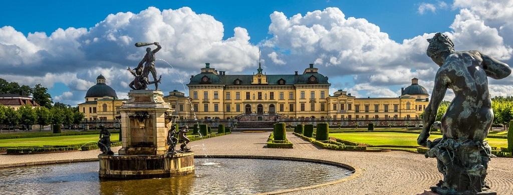 Достопримечательности Стокгольма - Дроттнингхольм