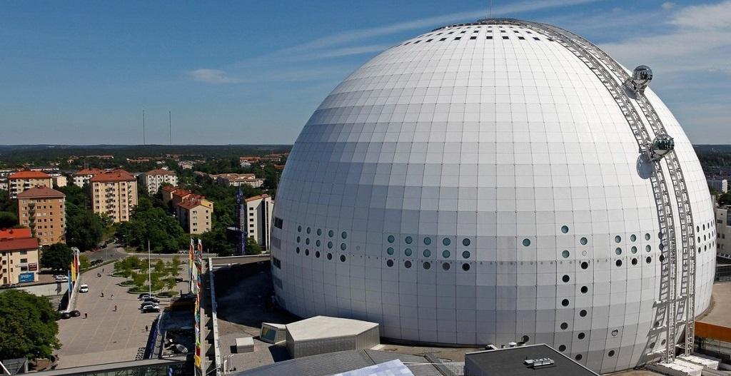 Достопримечательности Стокгольма - Эрикссон-Глоб