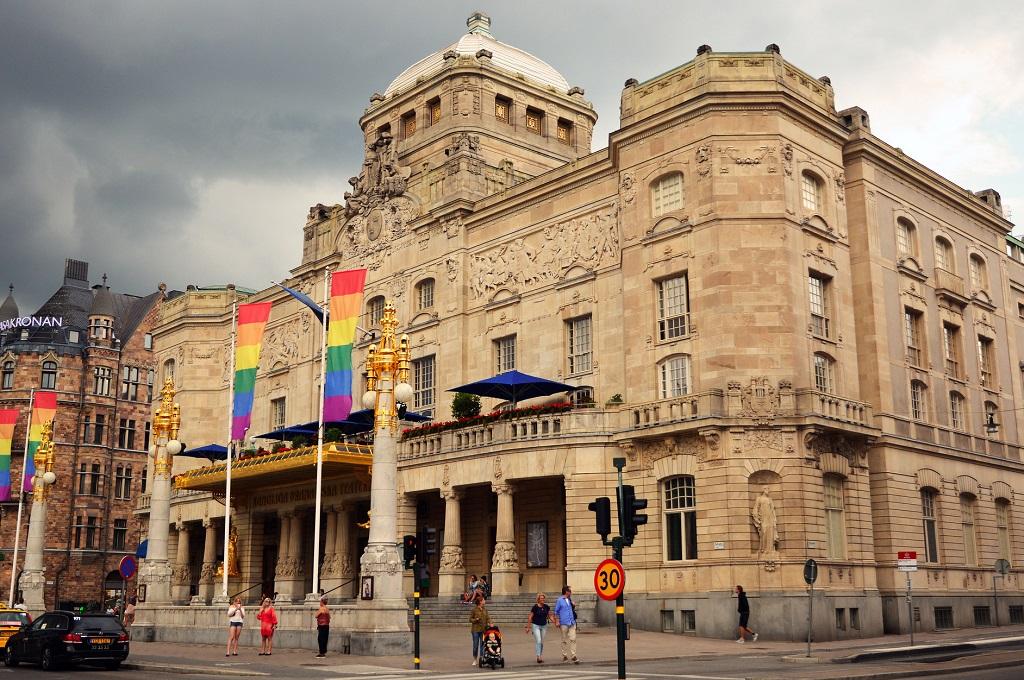Достопримечательности Стокгольма - Королевский драматический театр