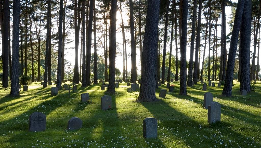 Достопримечательности Стокгольма - Лесное кладбище Скугсчюркогорден