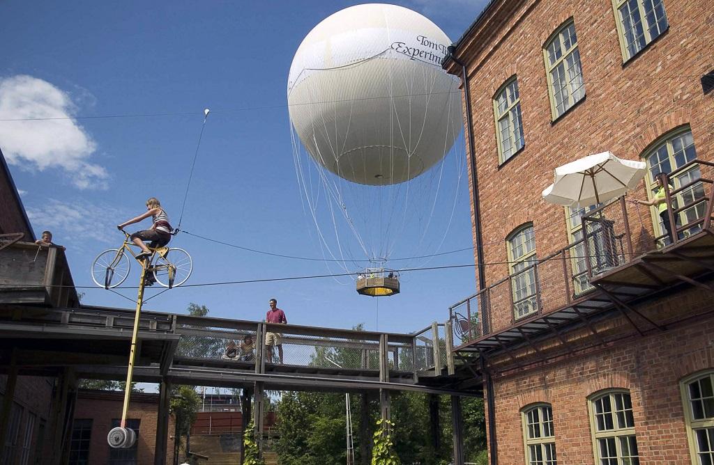 Достопримечательности Стокгольма - Музей экспериментов Тома Тита