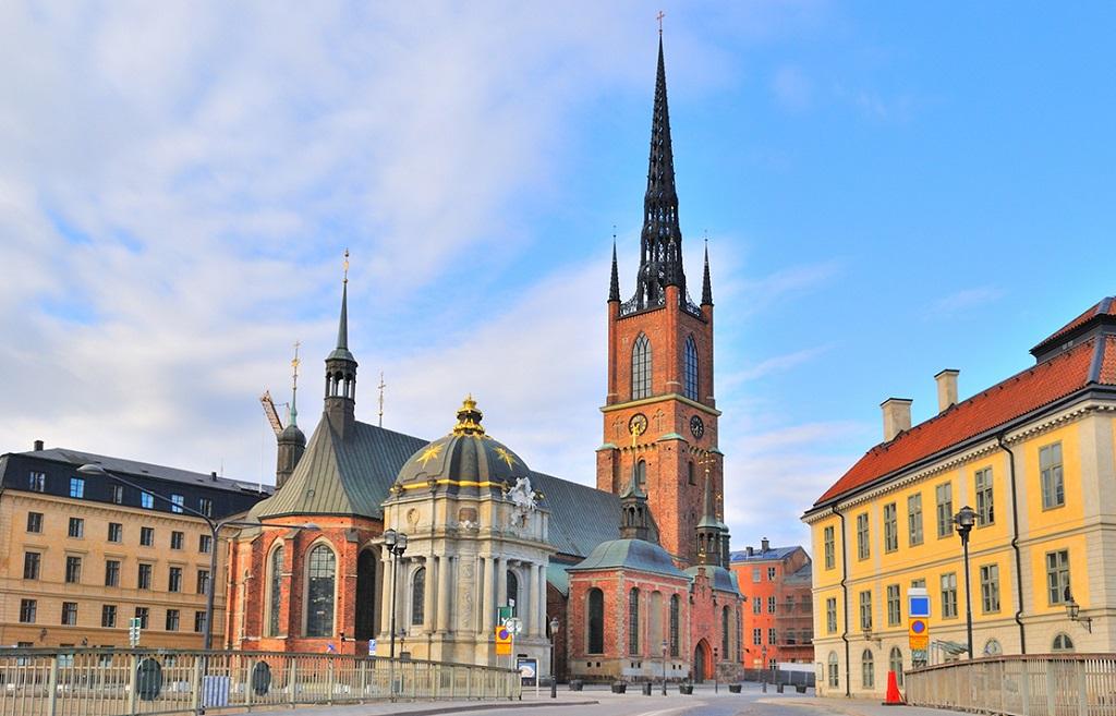 Достопримечательности Стокгольма - Церковь Риддархольмена
