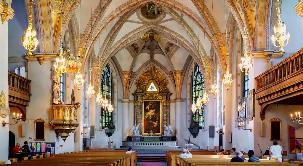 Достопримечательности Стокгольма - Церковь Святой Клары