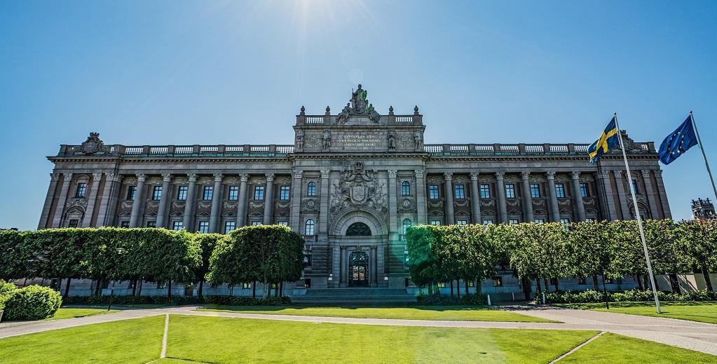 Достопримечательности Стокгольма - Здание Риксдага
