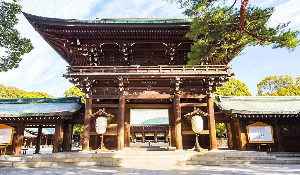 Достопримечательности Токио - Храм Мэйдзи