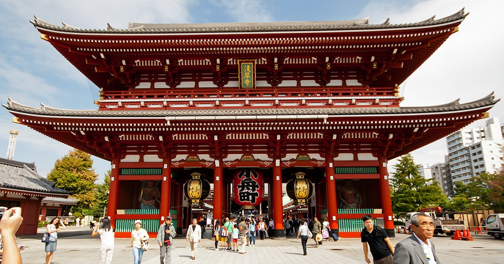 Достопримечательности Токио - Храм Сэнсо-дзи