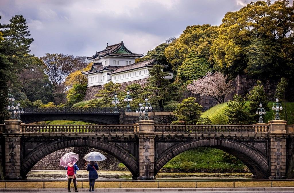 Достопримечательности Токио - Императорский дворец