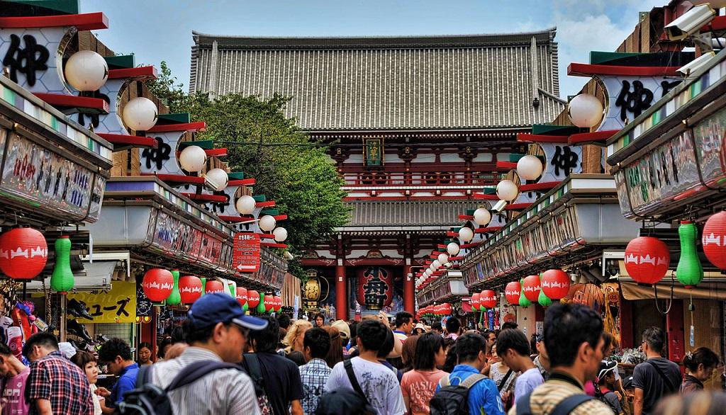 Достопримечательности Токио - Квартал Асакуса