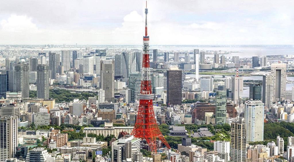 Достопримечательности Токио - Телевизионная башня Токио