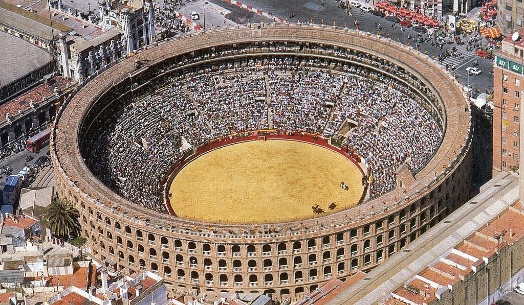 Достопримечательности Валенсии - Арена для корриды