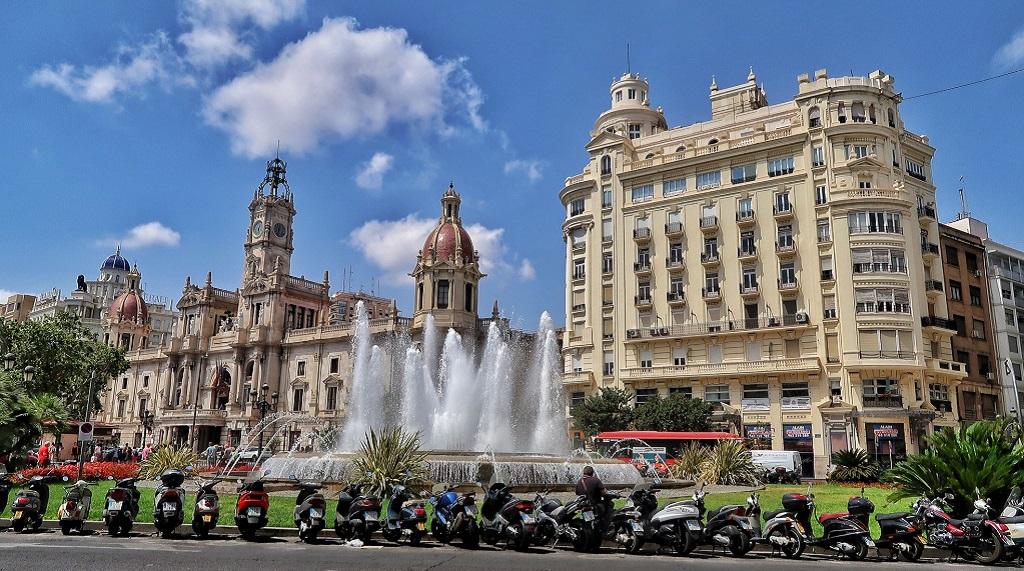 Достопримечательности Валенсии - Площадь Мэрии
