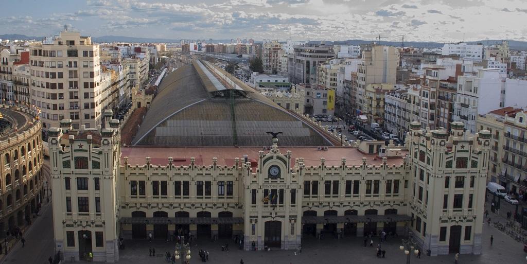 Достопримечательности Валенсии - Северный ж д вокзал