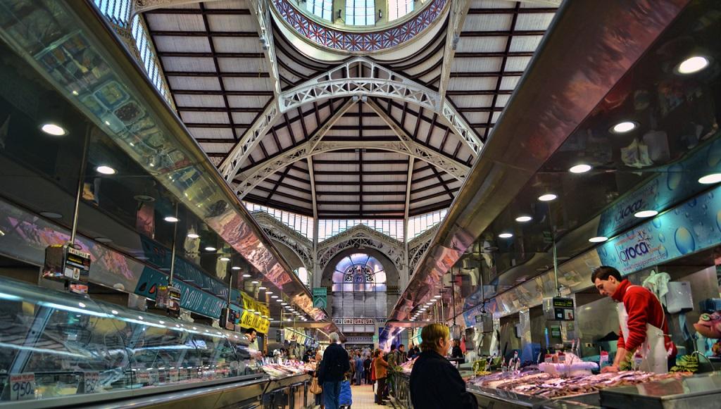 Достопримечательности Валенсии - Центральный рынок