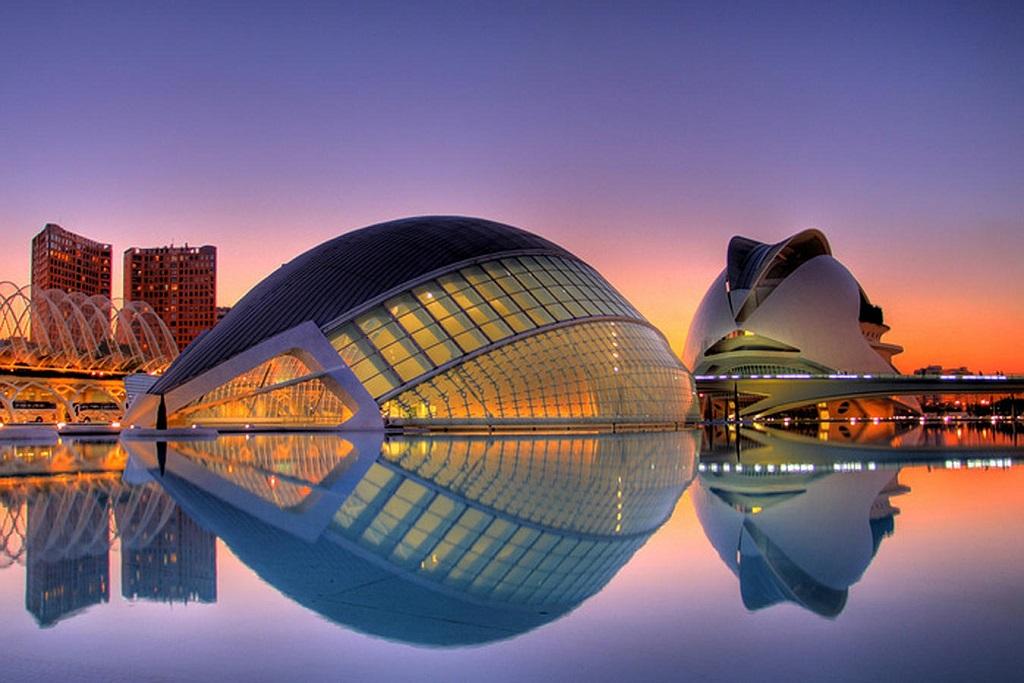 Достопримечательности Валенсии - город искусств и наук