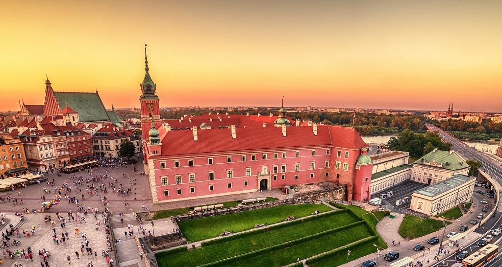 Достопримечательности Варшавы - Королевский замок