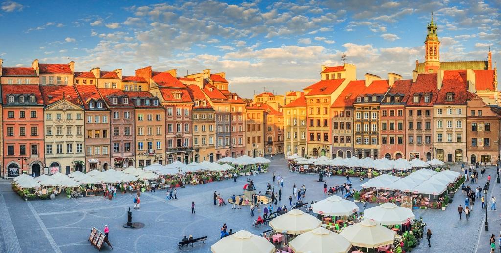 Достопримечательности Варшавы - Рыночная площадь