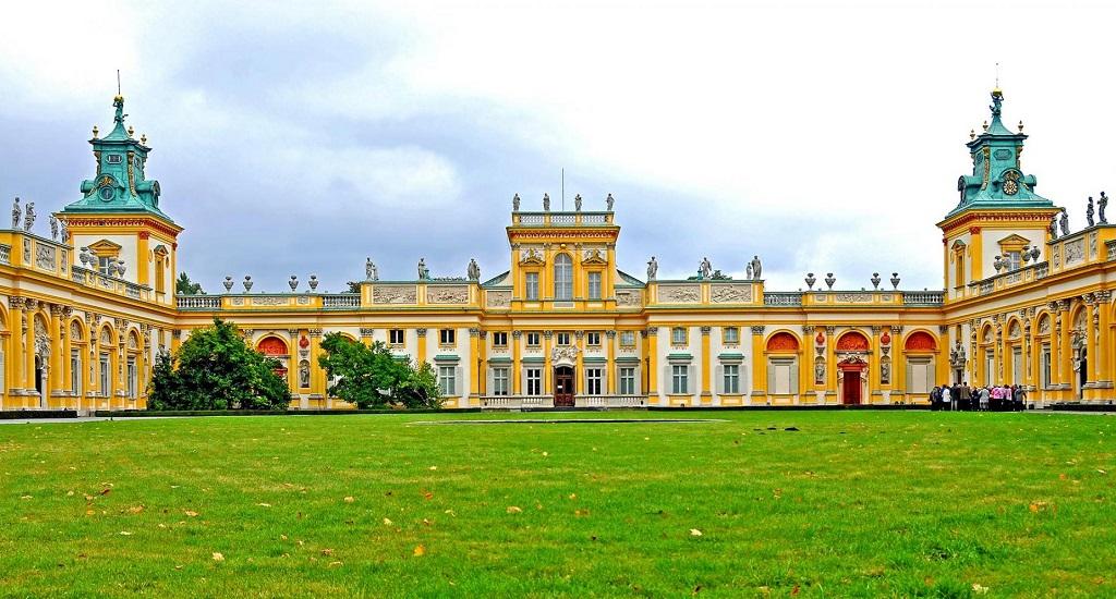 Достопримечательности Варшавы - Вилянувский дворец