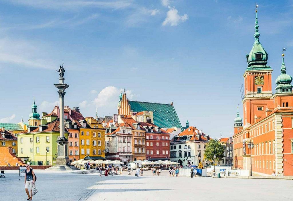 Достопримечательности Варшавы - Замковая площадь