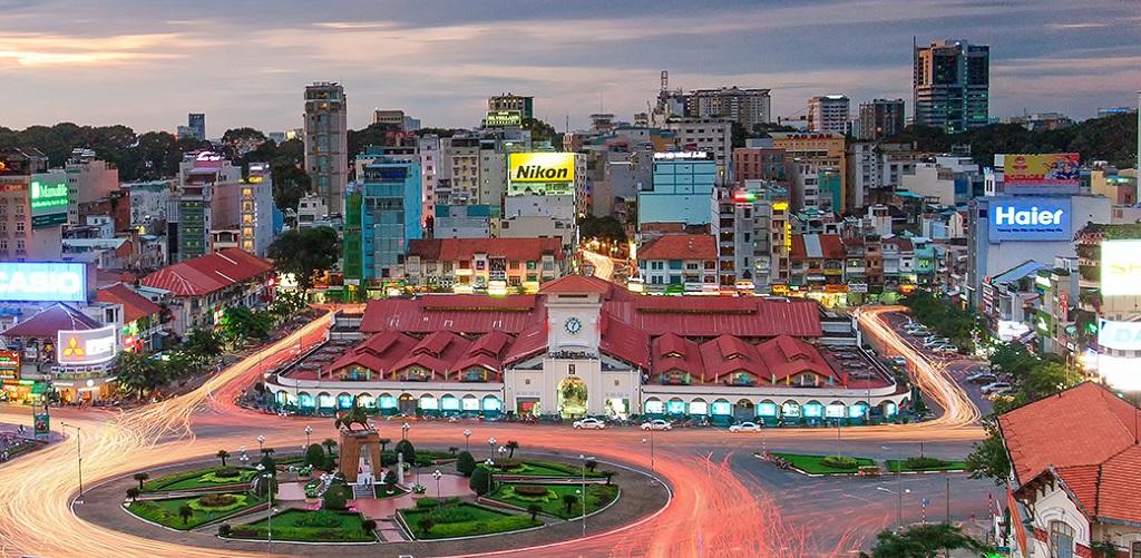 Достопримечательности Хошимина - Рынок Бен Тхань