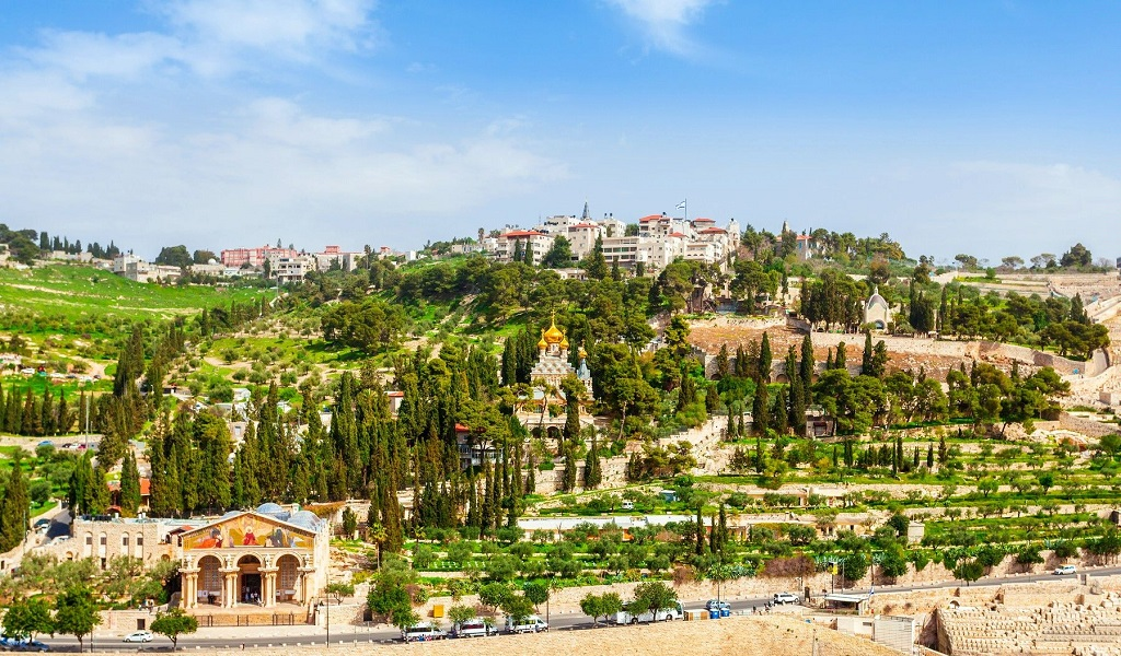 Достопримечательности Иерусалима - Елеонская гора