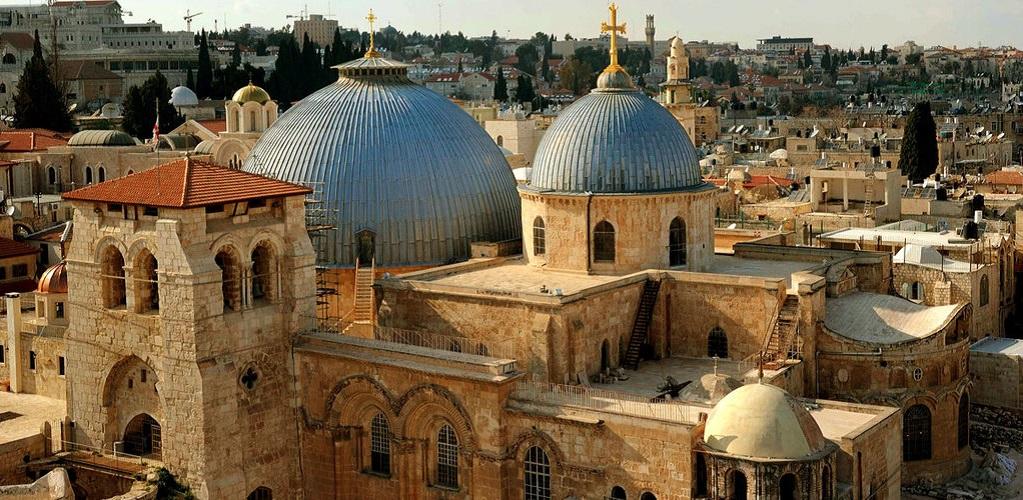 Достопримечательности Иерусалима - Храм Гроба Господня