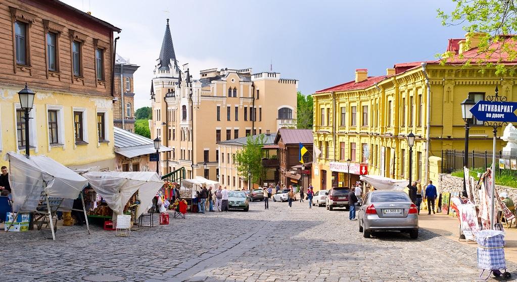 Достопримечательности Киева - Андреевский спуск