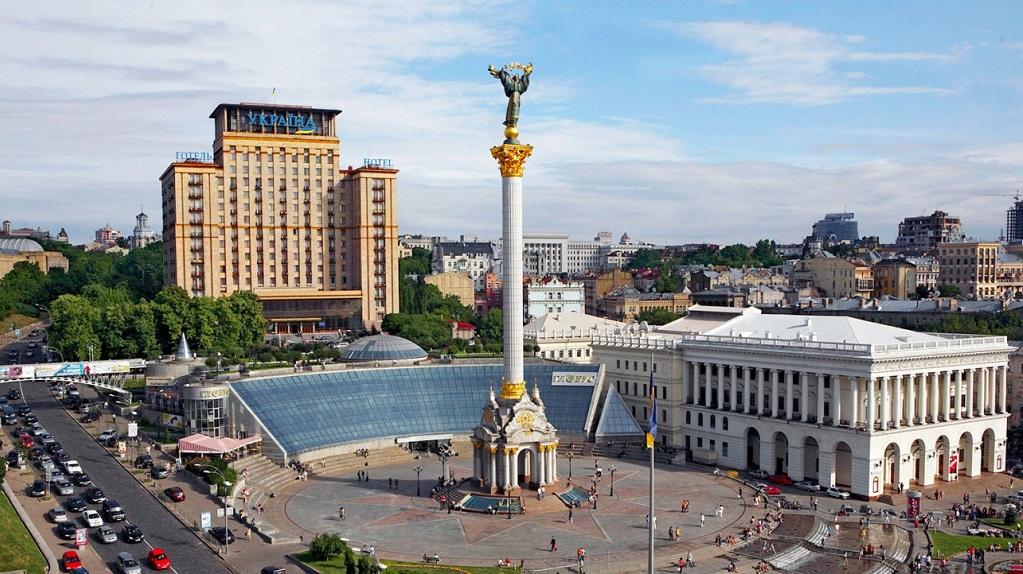 Достопримечательности Киева - Площадь Независимости