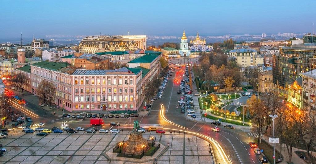 Достопримечательности Киева - Улица Крещатик