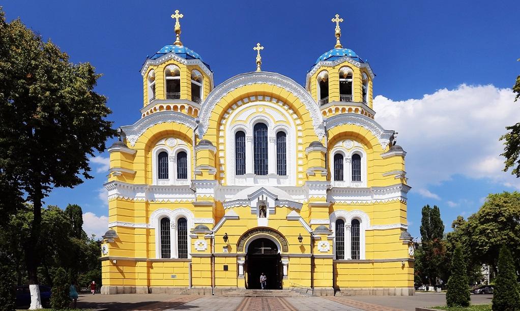 Достопримечательности Киева - владимирский собор