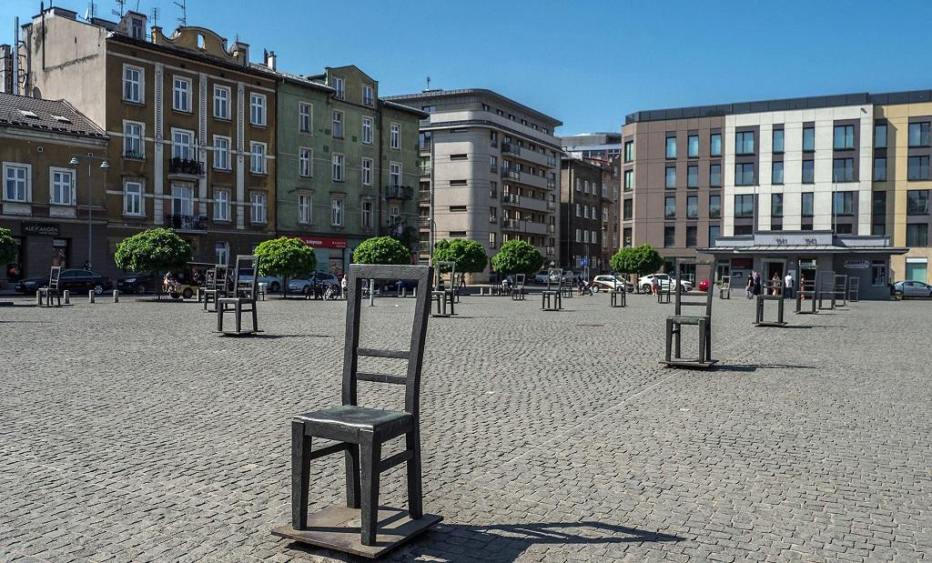 Достопримечательности Кракова - Площадь героев Гетто