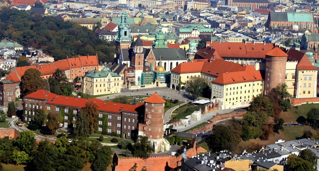 Достопримечательности Кракова - Вавельский замок