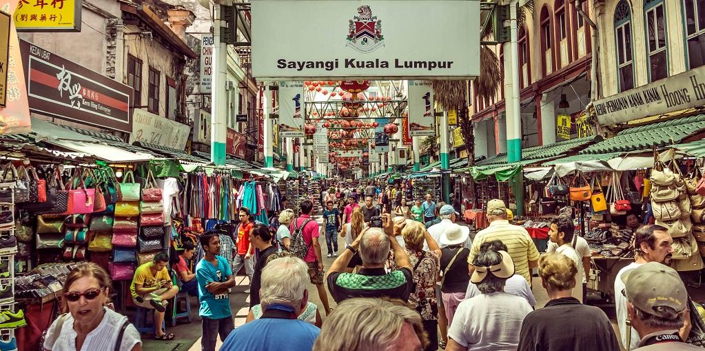 Достопримечательности Куала-Лумпура - Китайский квартал Чайна Таун