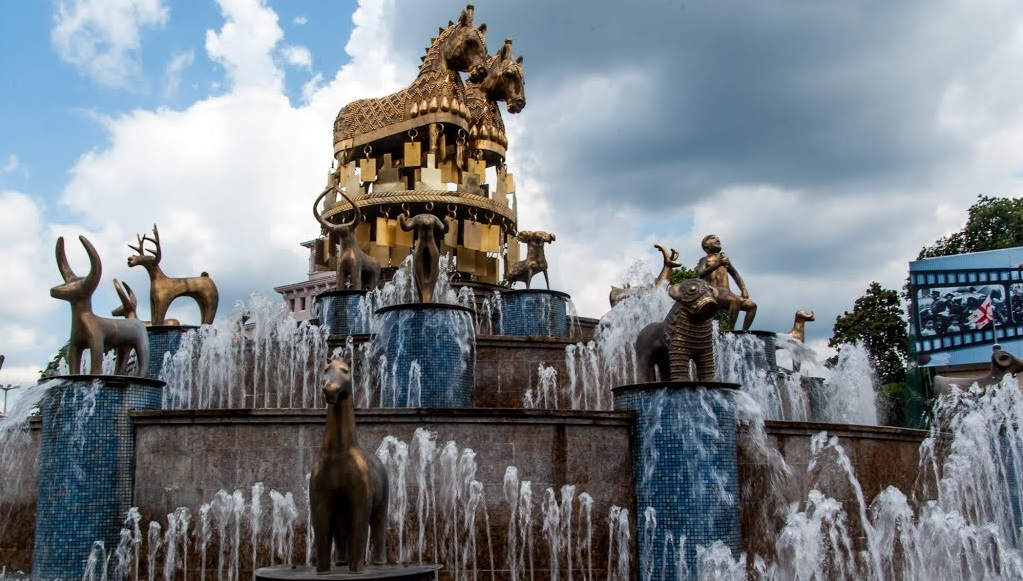 Достопримечательности Кутаиси - Колхидский фонтан